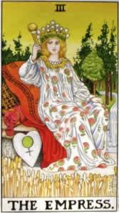 Tarot karta - Carica