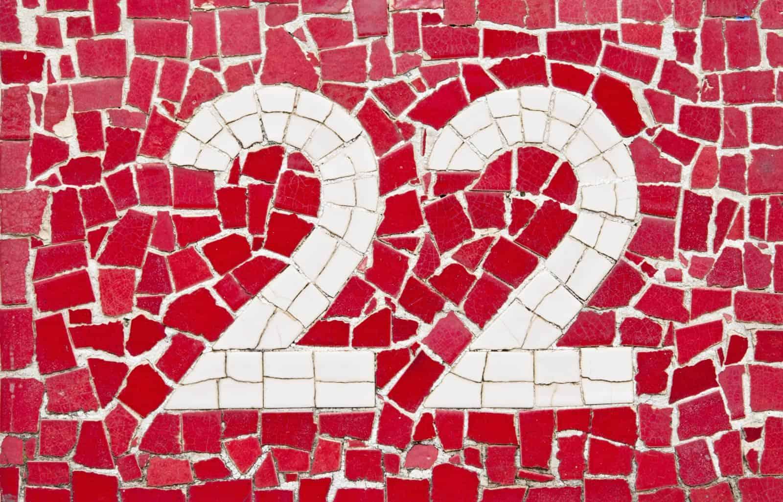 Numerologija - osobine broja 22