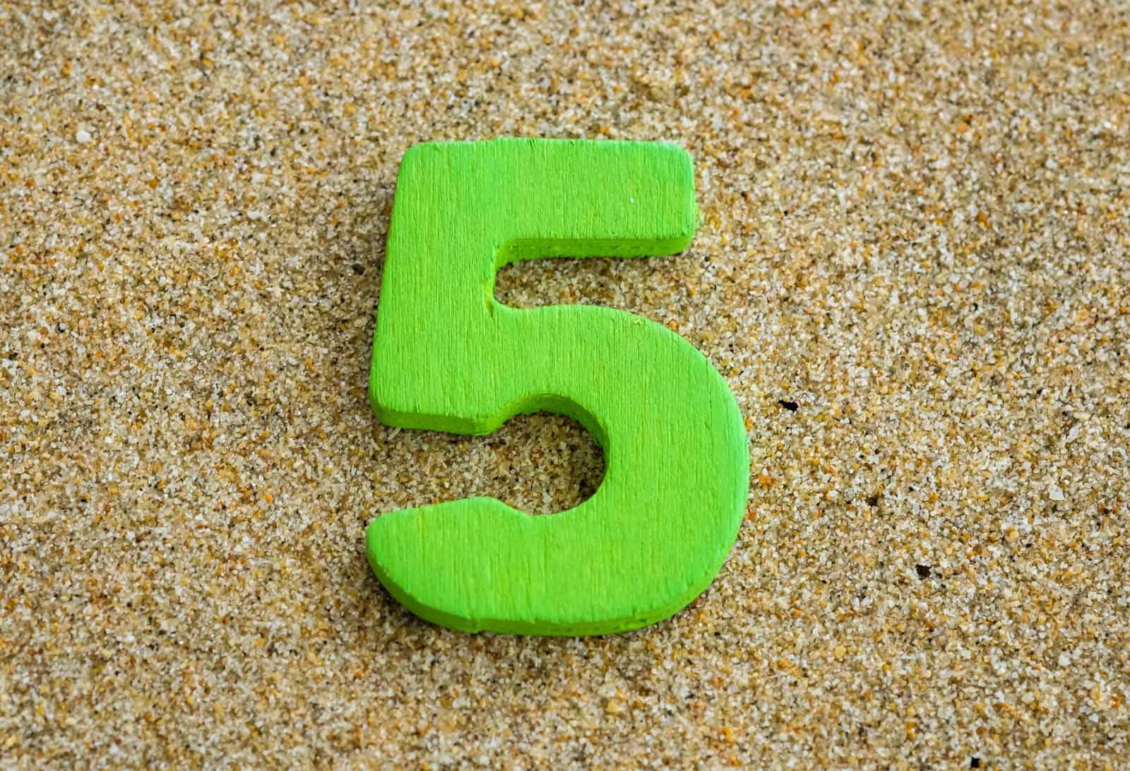 Numerologija - osobine broja 5