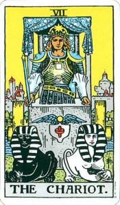 Tarot karta - VII Bojna kola