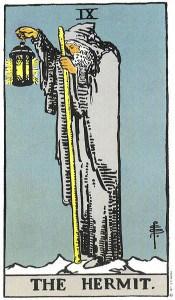 Tarot karta - XI Pustinjak