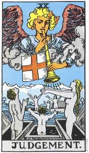Tarot karta - Posljednji sud