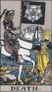 Tarot karta - XIII Smrt