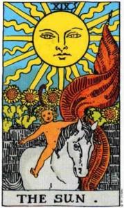 Tarot karta - Sunce