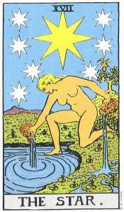 Tarot karta - Zvijezda