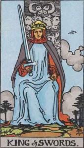 Tarot karte - Kralj mačeva