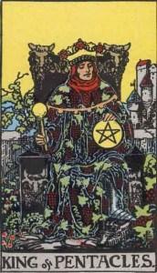 Tarot karte - Kralj Novčića