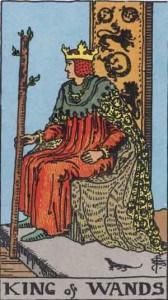 Tarot karte - Kralj štapova