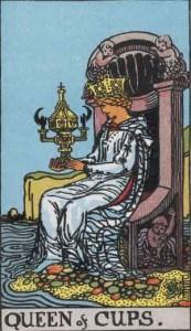 Tarot karte - Kraljica pehara