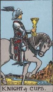 Tarot karte - Vitez pehara