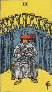 Tarot karta - Devetka pehara