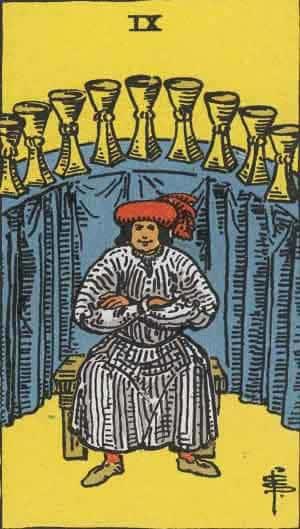 Tarot karte – Devetka pehara