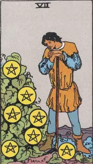 Tarot karte – Sedmica novčića