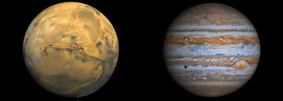 Astrologija - Jupiter i Mars