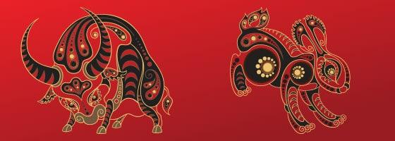 Kineski horoskop – Odnos Bika i Zeca
